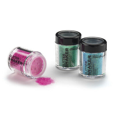 Stargazer Glitter Shaker Eyeshadow - All Colours (Loose UV Holo Glitzy)