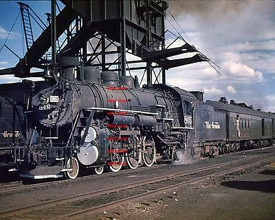 D&RGW RR 4-6-2 #805 5x7 color photo