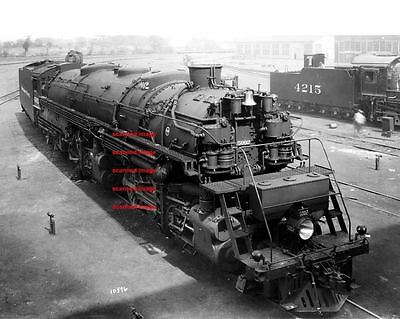Northern Pacific RR 2-8-8-4 #5002 5x7 photo