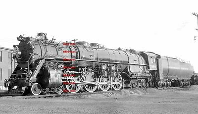 Northen Pacific  RR 4-8-4 #2664 5x7 photo