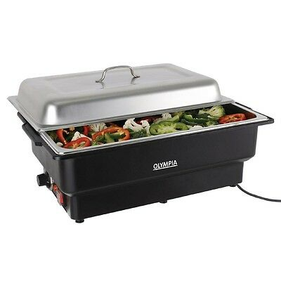 13.5 litre stainless steel ELECTRIC CHAFING DISH, 1/1 Full Size Electric Chafer