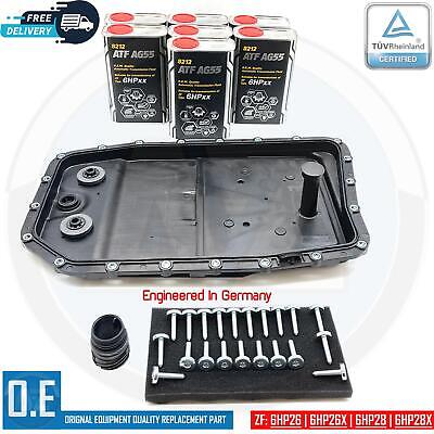 For 5 Series E60 E61 Automatic Transmission Gearbox Sump Pan Seal Filter Oil Kit