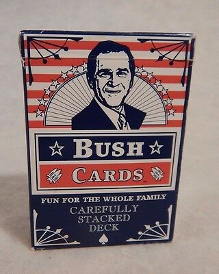 political President George W Bush playing cards funny deck poker Complete