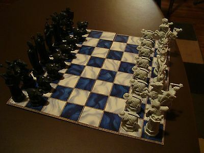 HARRY POTTER WIZARD CHESS Mattel 2002 All Pieces and Board 8+ Boys & Girls