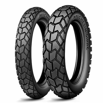 Michelin NEW Sirac 120/80-18 Rear 90/90-21 Front Dual Sport Adventure Tyre Set