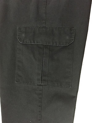Red Kap Men's Cargo Pants ( Black ) Work Uniform PT88BK Pre Worn MANY SIZES