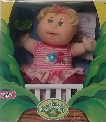Cabbage Patch Kids Babies 32cm Doll Kids Cute Toy Gift Blonde Hair Girl NEW