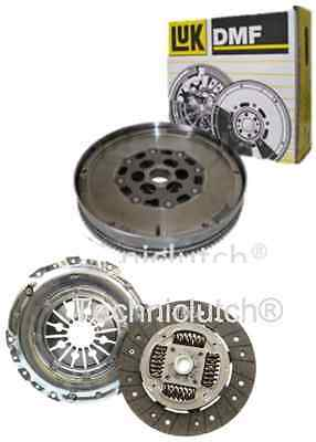 Vauxhall Vectra 1.9 Cdti F40 Clutch Kit And Luk Dual Mass Dmf Flywheel