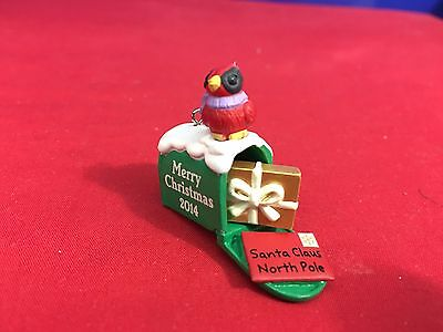 Hallmark Miniature Ornament Santa Has Mail 2014 New