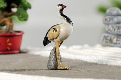 Miniature Dollhouse FAIRY GARDEN - Zen Bird - Accessories