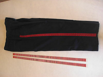 Han Solo Bloodstripes iron-on stripes costume prop RED pants Star Wars New Hope