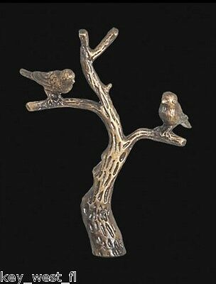 """TREE OF LIFE LAMP FINIAL ~ Antique Brass Finish  { 2 7/8"""" Tall } ~ #LE32"""