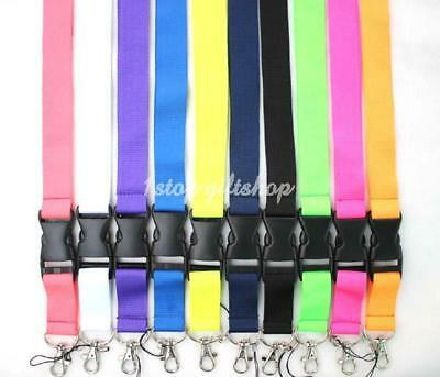 Lanyard ID Window Leather Card Holder Card Case Badge Necklace Neck Strap