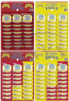 Smiths Pub Snack Cards Scampi / Bacon Fries Cheese Moments Or Mixed - You Choose