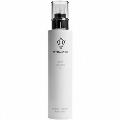 Crystal Clear Skincare Deep Cleansing Gel 200ml Soap Facial Wash NEW