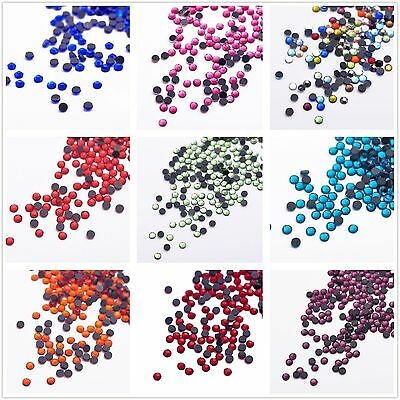 Wholesale 2000pcs 2mm Hotfix Iron On Flatback DMC Crystal Glass Rhinestone