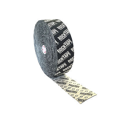 Original Rocktape Rock Kinesiology Athletic Muscle Support Tape Black Logo 5Cm