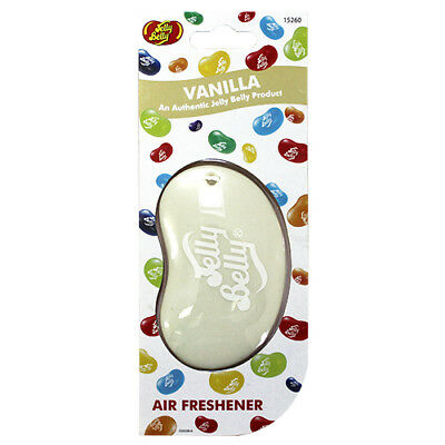 Jelly Belly Bean 3D Car Home Office Air Freshener Vanilla Fragrance NEW