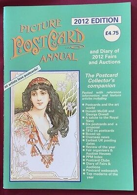 PICTURE POSTCARD ANNUAL -  2012 Edition -   FREE POSTAGE IN UK