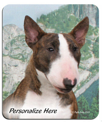 Mini  Bull  Terrier  ( 1 )  Personalized  Mouse Pad