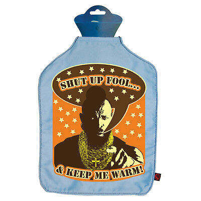 Mr T Hot Water Bottle Cover. Fool Warmer The A Team Bedtime Novelty Gift
