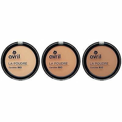 Avril Natural Compact Powder Certified Organic 7g