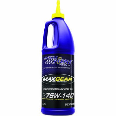 Royal Purple Gear Oil 01301; Max-Gear Oil 75W140 Synthetic