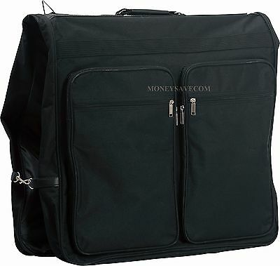 """New Deluxe 47"""" Polyester Rip Resistant Suit Dress Garment Storage Clothes Bag"""