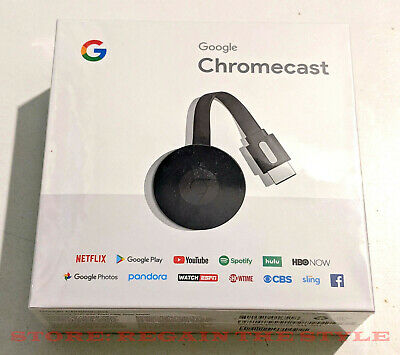 Google Chromecast 2018 HDMI Digital Media Streamer ✔✔ FREE USA SHIPPING ✔✔