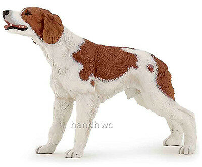 Papo 54024 Brittany Dog Toy Model Epagneul Breton Replica Figurine - NIP