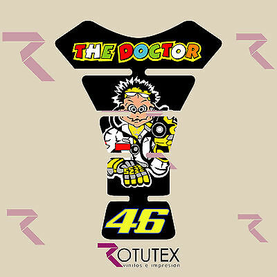 Protector Deposito Yamaha  Valentino Rossi  Pegatina Stickers Decal Moto