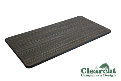 800mm x 400mm Campervan, Motorhome, Table Top, Zebrano, Light Weight Ply