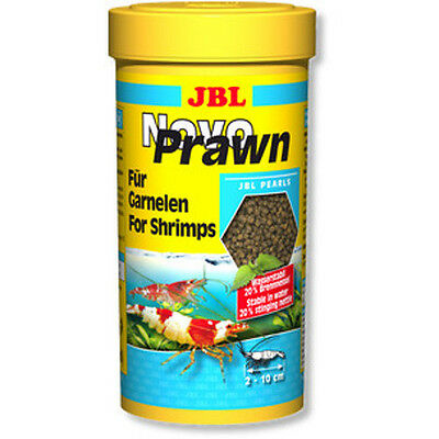 JBL NovoPrawn 250ml Novo Prawn Food for Cherry Crystal Tiger Shrimp