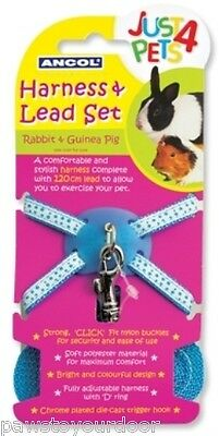 Ancol harness & lead set rabbit & guinea pig pet