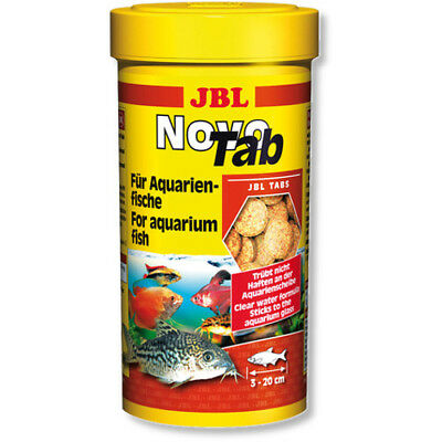 JBL NovoTab 100ml Original Tub Novo Tabs for Aquarium Fish, Zebras, Plecos