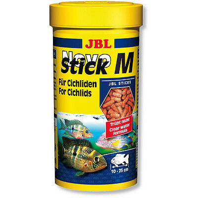 JBL NovoStick M 250ml - Novo Stick Food for Carnivorous Cichlids