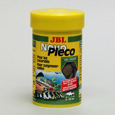 JBL NovoPleco 100ml - Novo Pleco Tabs in Original Packaging Catfish