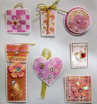 *LOVELY GIFTS* Royal & Langnickel 3D Sticker Embellishments