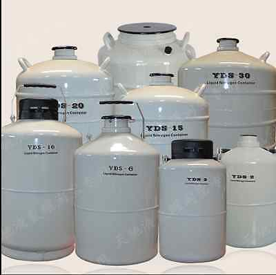 20L Cryogenic Liquid Nitrogen Container LN2 Tank Dewar with Sleeve Fast Ship!