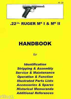 Ruger MKI & MKII Assembly, Disassembly Manual