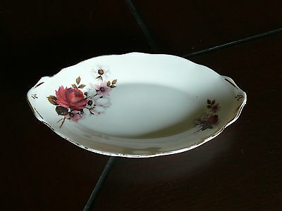 Vintage Royal Stafford Oval shaped dish Honey Bunch