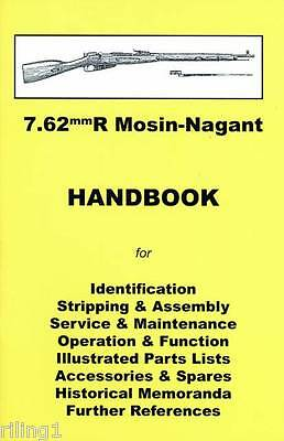 Mosin Nagant 7.62mmR Assembly, Disassembly Manual