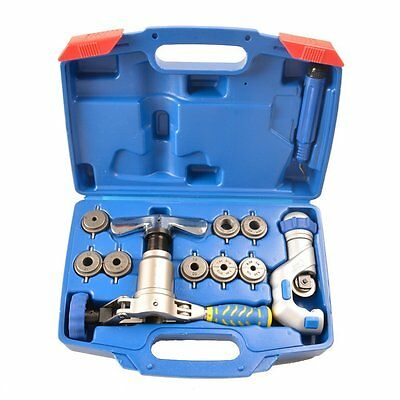 WK-519FT 45 Degree Eccentric MultiFunction Copper Pipe Flaring Cutting Deburring