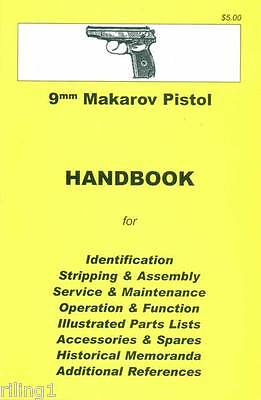 Makarov Pistol Assembly, Disassembly Manual 9mm