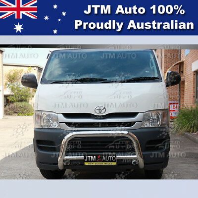 """TOYOTA Hiace Nudge Bar 3"""" Stainless Steel Grille Guard 2005-2016 (LWB ONLY)"""
