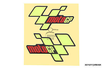 Domed reflective soft-gel Moto GP decal sticker for motorbike racing GP Rally
