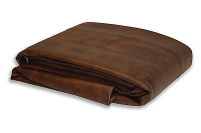 Empire USA 8 ft Brown Fitted Leatherette Billiard Pool Table Cover Free Ship New