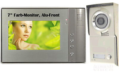 "Video Doorbell Intercom Türsprechanlage 1 Familie 7"" TFT Monitor Sprechanlage"