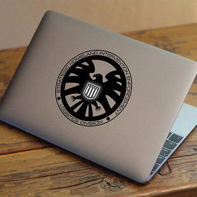"SHIELD Apple MacBook Decal Sticker fits 11"" 13"" 15"" and 17"" models"
