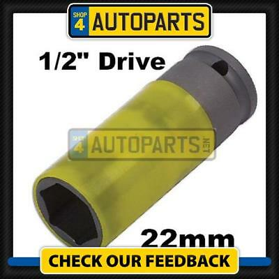 """Discovery 3 / 4 22Mm Wheel Nut Socket With 1/2"""" Drive Alloy Wheels Et3852 (P)"""